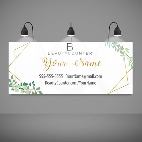 BeautyCounter Custom Banner