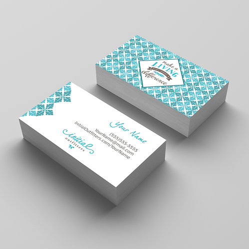 Initials outfitters business card