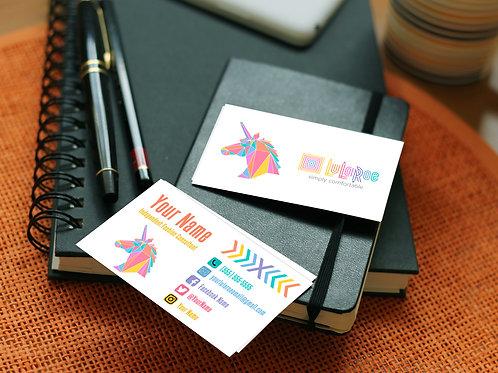 Lularoe business card unicorn