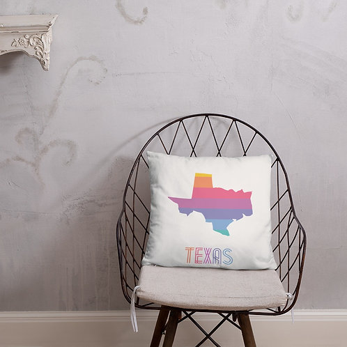 Texas State Lularoe colors pillow