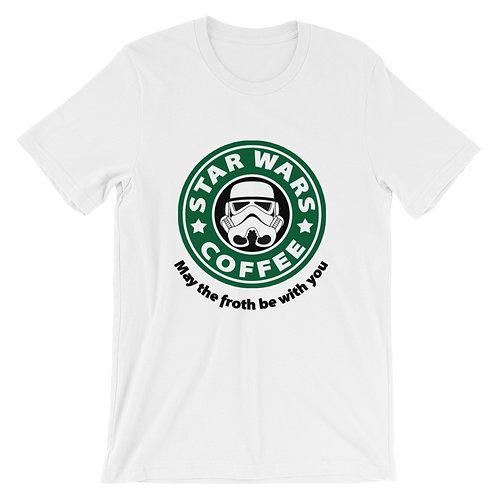 Star Wars coffee T-shirt white