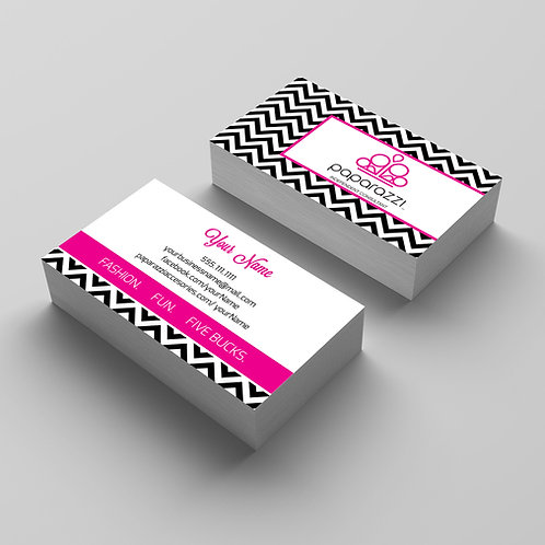 Paparazzi accesories business card chevron