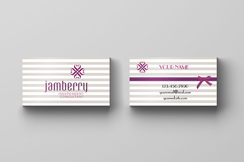 Jamberry business card