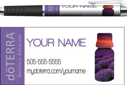doTerra business pen lavender