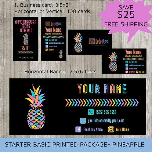 Lularoe Starter marketing kit Pineapple Printed