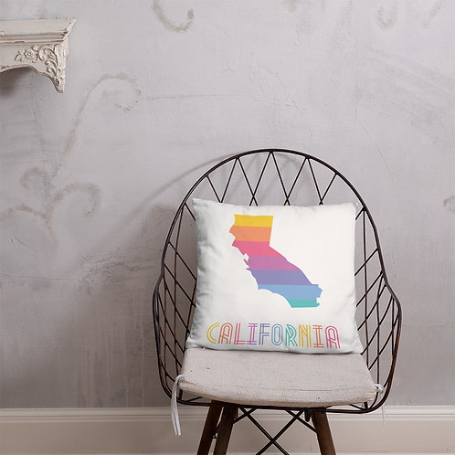 Basic Pillow - California State Lularoe colors