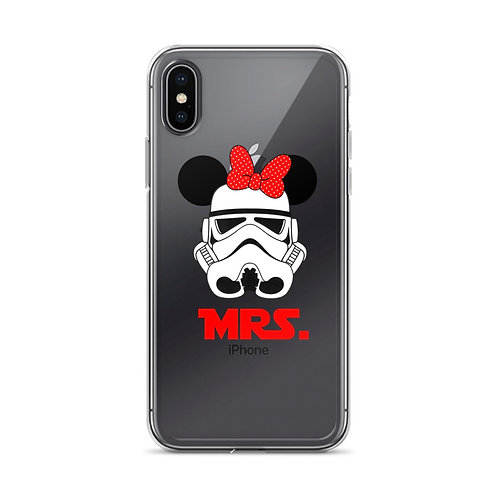 Mrs. Stormtrooper Phone Case- iPhone Case