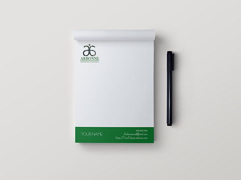 Arbonne Stationary notepad tree of life