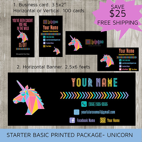 Starter marketing kit Lularoe Unicorn Printed