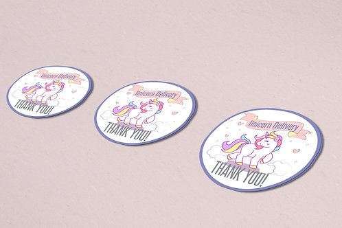 Unicorn delivery stickers lularoe