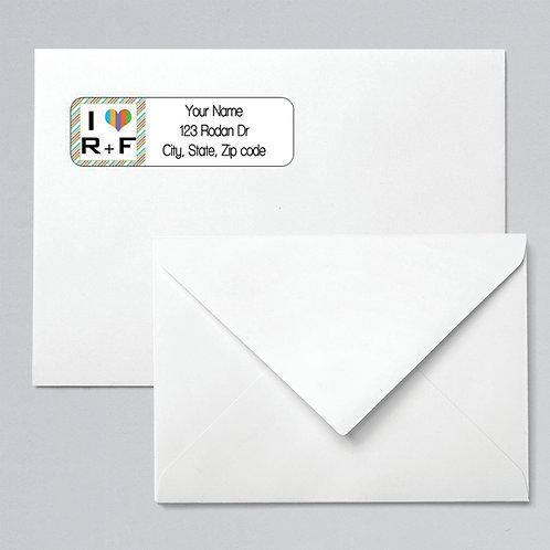 Return address label rodan fields