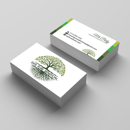 Arbonne business card Modern tree of life