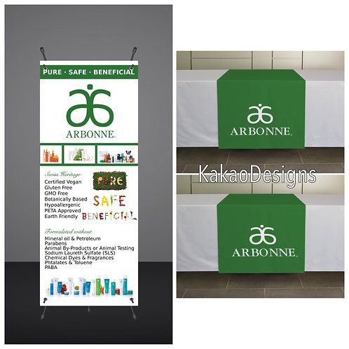 Arbonne - Vendor Show Set 1 - Printed