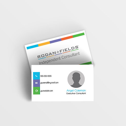 Rodan Fiels business card Modern