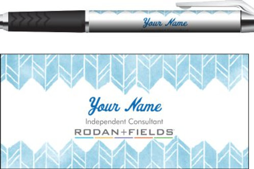 Rodan + Fields business pen watercolor