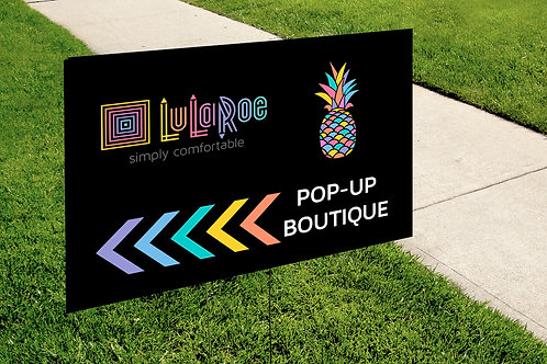 Lularoe Pop up boutique pineapple instant download