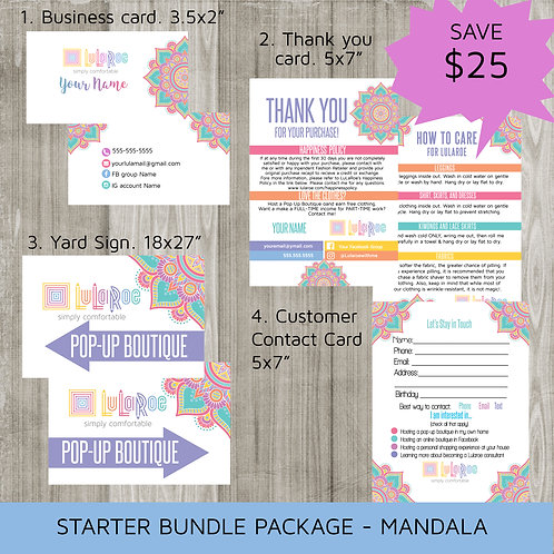 Starter bundle package Mandala Lularoe