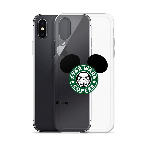 Star Wars Coffe Mickey ears Iphone X case