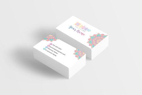Lularoe business card Mandala