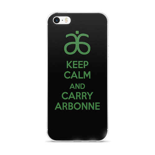 Keep Calm and Carry Arbonne - iPhone Case