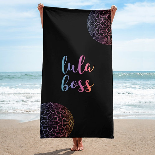 Lula boss Mandala Beach towel