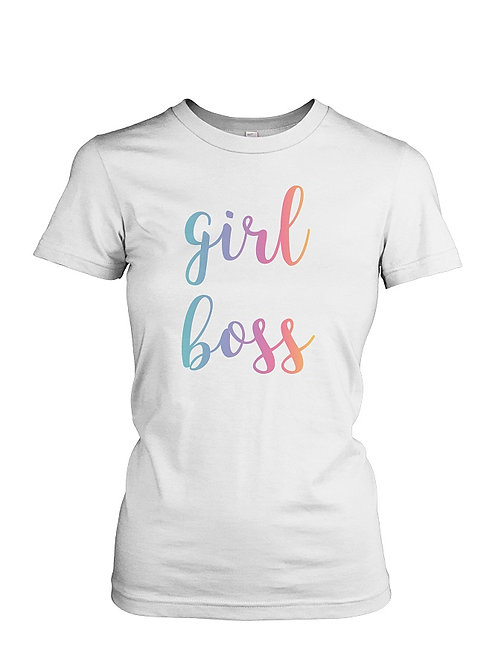 Girl Boss amarican apparel tee