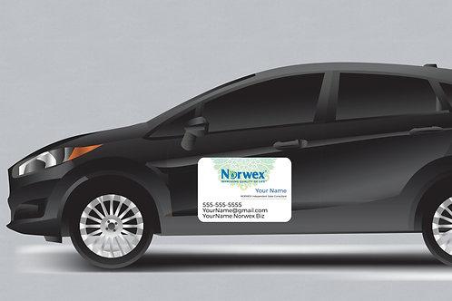 Norwex Consultant Car Magnet Mandala