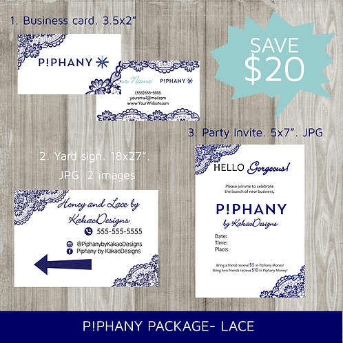 Piphany bundle package lace