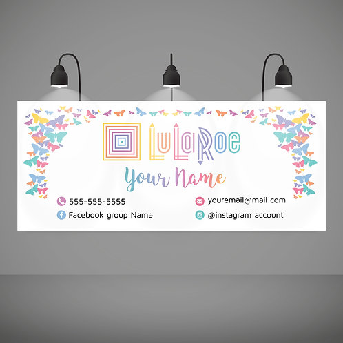 Lularoe banner butterflies