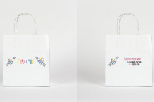 Lularoe Butterflies paper bag