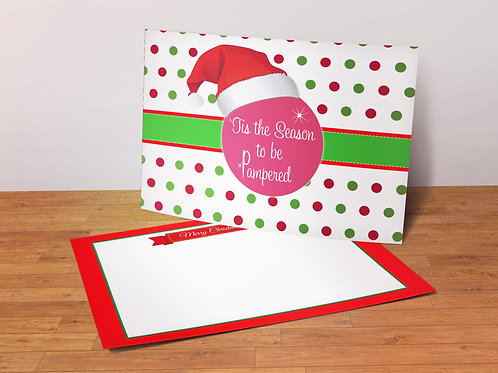 Perfectly Posh christmas postcard