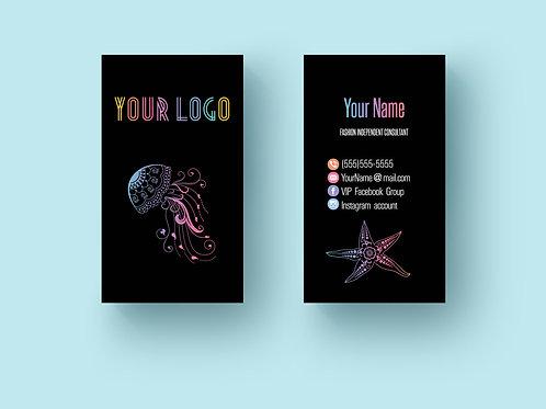 Lularoe business card marine