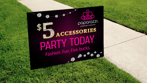 Party today yard sign digital paparazzi accessories updated party today yard sign digital paparazzi accessories updated logo kakao designs digital and printed marketing material direct sales reheart Image collections
