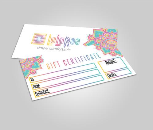 LuLaroe Gift Certificate - Lularoe cash - Mandala ID   Kakao ...