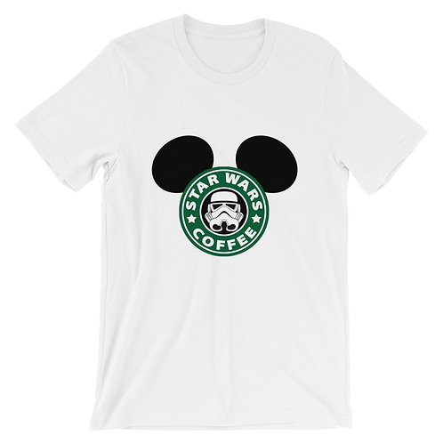 Star Wars coffe Mickey ears T-shirt