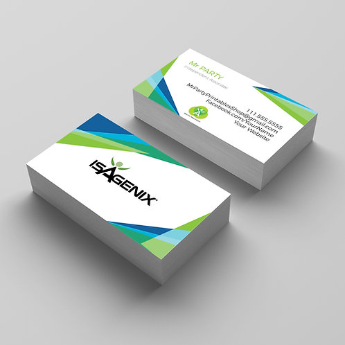 Isagenix business card