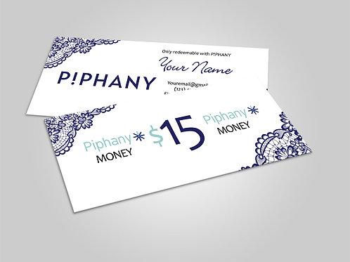 Piphany cash - Honey cash