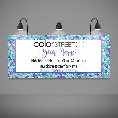 Color Street vendor show banner