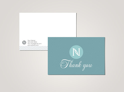 Nerium thank you card