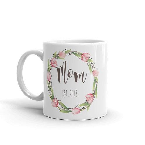 Mom Est - Coffee Mug