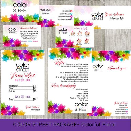 Color Street bundle package Marketing set