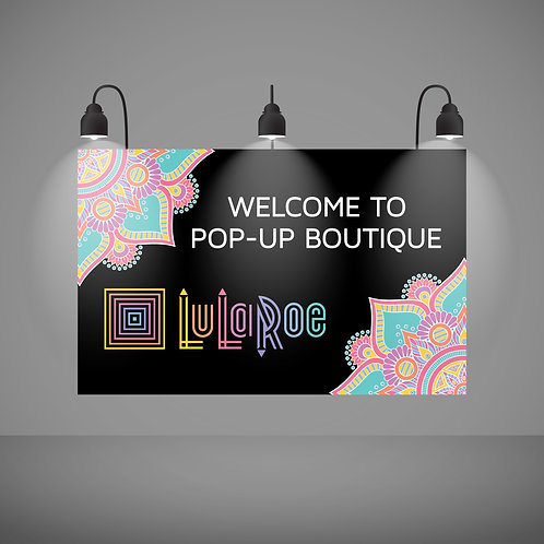 welcome pop up boutique mandala lularoe