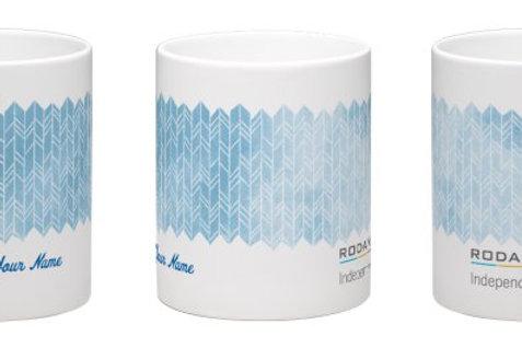 Rodan and Fields watercolor mug personalized