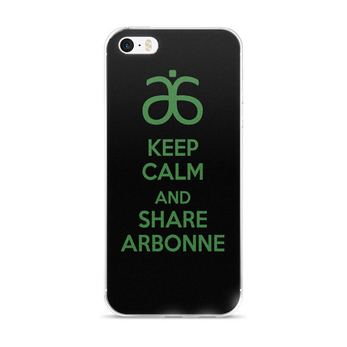 Keep Calm Arbonne iphone 5 case
