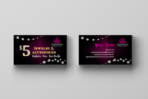 Paparazzi Accessories Business Card Diamonds
