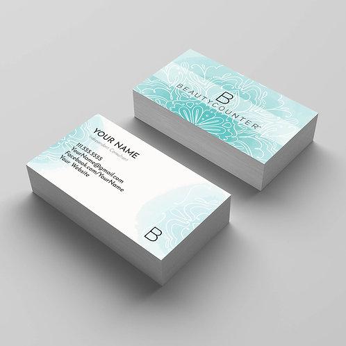 BeautyCounter business cards- Mandala