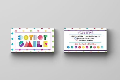 DotDot Smile business card