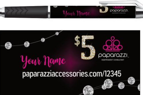 Paparazzi Jewelry business pens diamonds