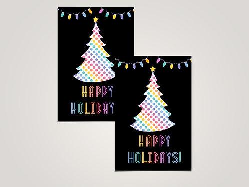 Happy Holidays - Lularoe PostCard- Digital File
