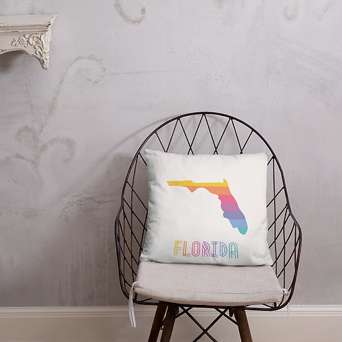 Florida State Lularoe colors pillow